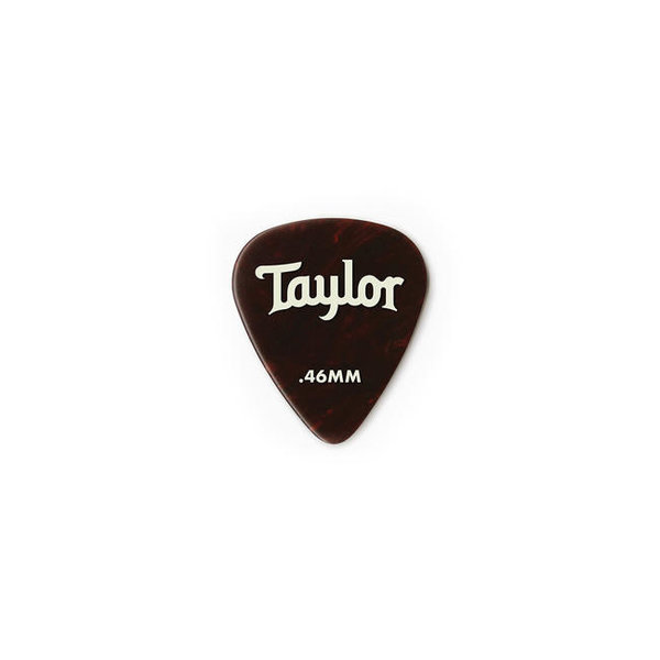 Taylor Taylor Celluloid 351 Picks, Tortoise Shell, .46mm 12-Pack - 80774
