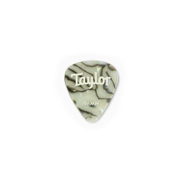 Taylor Taylor Celluloid 351 Picks, Abalone, 0.96mm 12-Pack