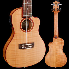 Lanikai Lanikai Flamed Maple Thin Body Concert Ukulele w A/E