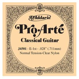 D'Addario D'Addario J4501 Pro-Arte Nylon Classical, Normal Tension, First String High E