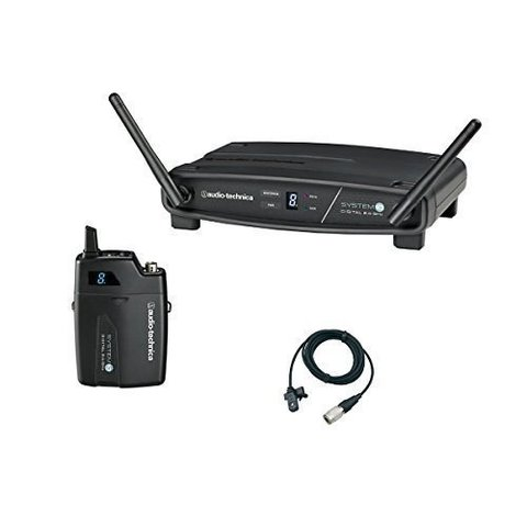 Audio-Technica ATW-1101/L Wireless Lavalier Microphone System