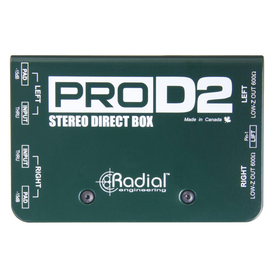 Radial Radial ProD2 2-channel Passive Instrument Direct Box