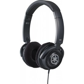 Yamaha Yamaha HPH-150B High-End Instrument Headphones - Black