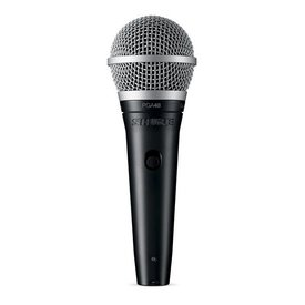 Shure Shure PGA48-QTR Vocal Microphone with 15' XLR to QTR Microphone Cable