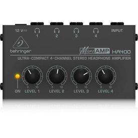 Behringer Behringer HA400 4-Channel Stereo Headphone Amp
