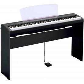 Yamaha Yamaha L85 Black, Wood, Keyboard Stand for P105 & P45