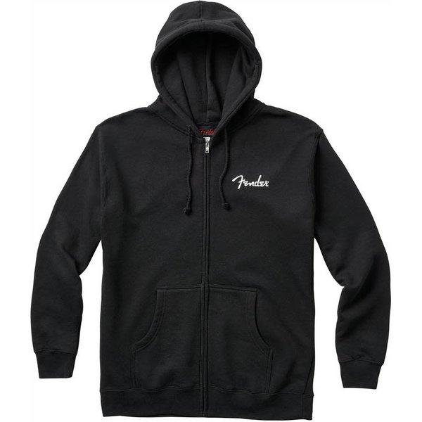 Fender Fender Spaghetti Logo Zip Hoodie, Black, L