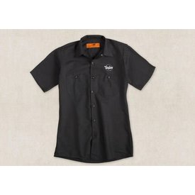 Taylor Taylor Guitar Stamp Work Shirt- L Button Front Shirt