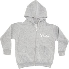 Fender Fender Toddler Zip Hoodie, Grey, 2T