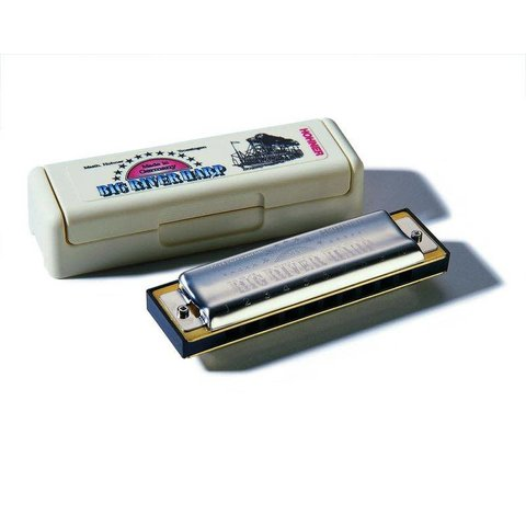 Hohner Big River Harmonica Boxed G 590BX-G
