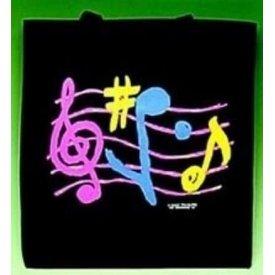 Music Treasures Co. G-Clef Black Tote