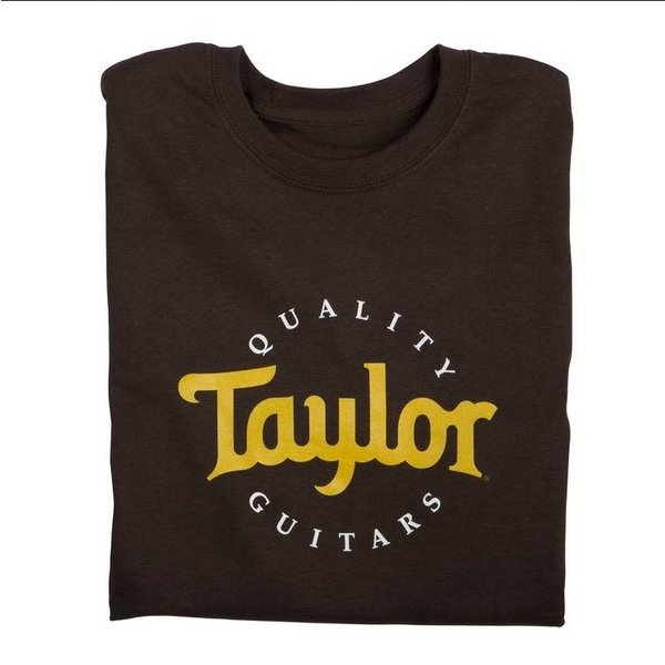 Taylor Taylor Two-Color Logo Tee Sand, M