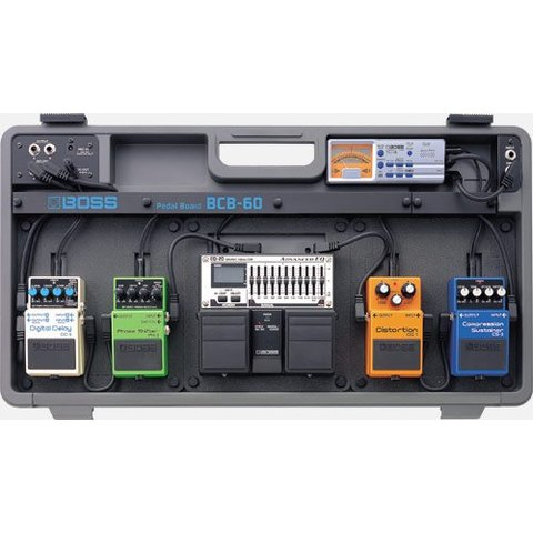 Boss BCB60 Deluxe Pedal Board and Case