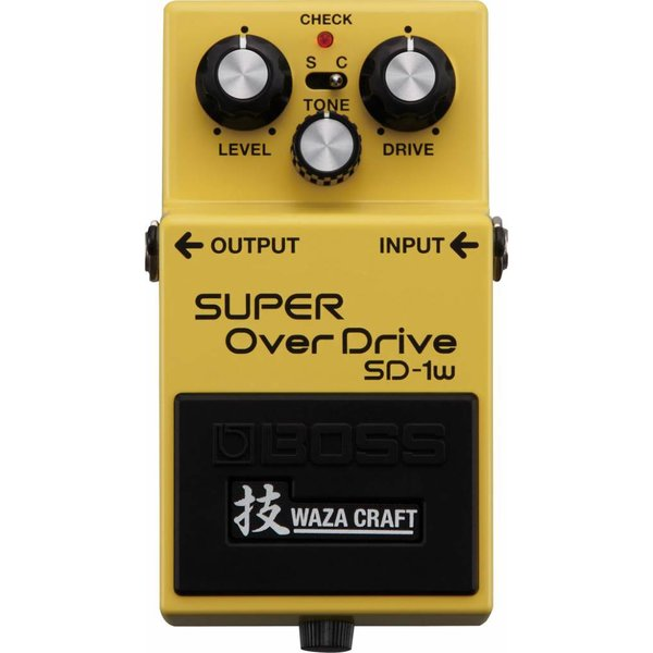 Boss Boss SD1W Super Overdrive Waza Craft Special Edition