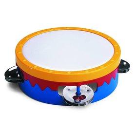 "Hohner Hohner 6"" Tambourine, Multi Colored S601C"