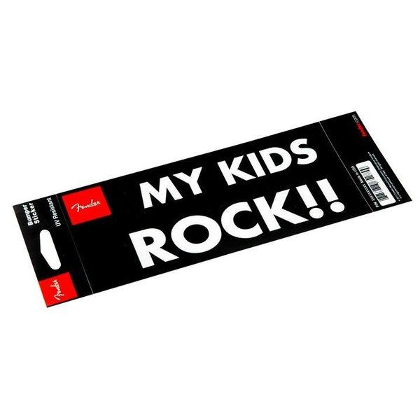 Fender Fender ''My Kids Rock'' Bumper Sticker