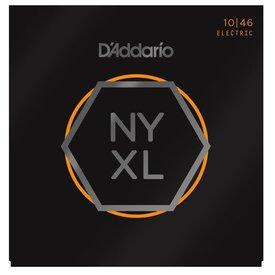 D'Addario Fretted D'Addario NYXL1046 Nickel Wound Electric Guitar Strings, Regular Light, 10-46