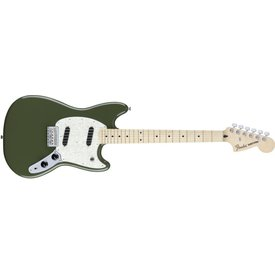 Fender Mustang Maple Fingerboard, Olive