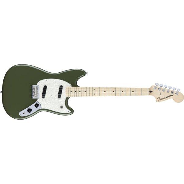 Fender Mustang Maple Fingerboard, Olive