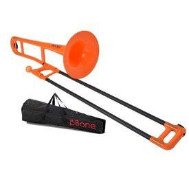 Conn-Selmer Jiggs PBONE1OR Plastic Trombone, Orange