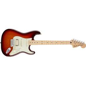 Fender Deluxe Stratocaster HSS, Maple Fingerboard, Tobacco Sunburst