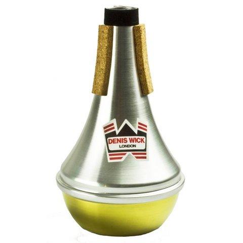 Denis Wick D Trumpet/Eb Cornet Aluminum Straight Mute; Brass Bottom