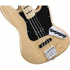 Deluxe Active Jazz Bass, Maple Fingerboard, Natural