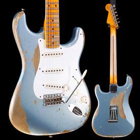 Fender Custom Shop Fender 2016 Custom Shop 1958 Heavy Relic Stratocaster, Blue Ice 898 7lbs 9.2oz