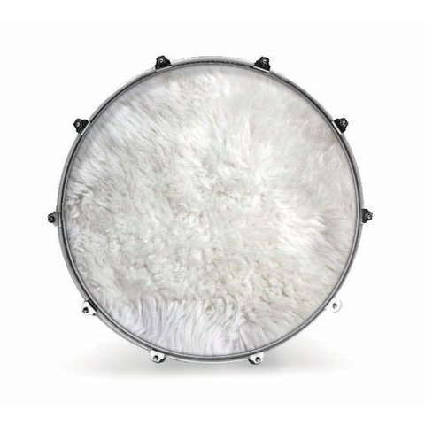 "Evans 20"" Fabric Polar Bear Fur"