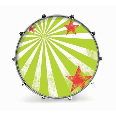 "Evans 20"" Graphic Star Burst 2"