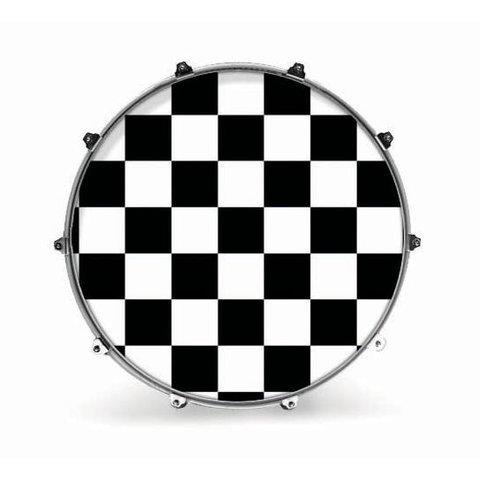 "Evans 20"" Graphic White Checker"