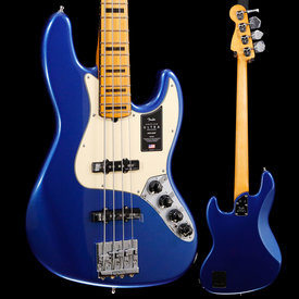 Fender Fender American Ultra Jazz Bass, Maple Fingerboard, Cobra Blue 149 9lbs 11.2oz