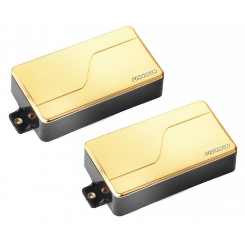 Fishman PRF-MHB-SG2 Fluence Modern Humbucker, Set, Gold