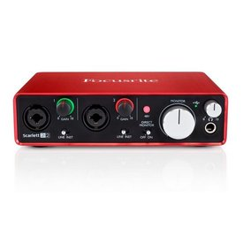 Focusrite Focusrite Scarlett 2i2 2-in / 2 out 2nd Generation USB Interface
