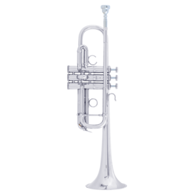 Bach Bach AC190S C Trumpet - Professional, Silver-Plate Finish