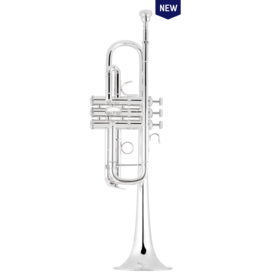"Bach Bach C190SL229 C Trumpet - Professional, Large Bore (.462""), Silver-Plated"