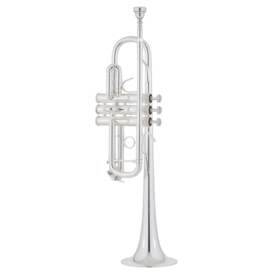 "Bach Bach C180SL239 C Trumpet - Professional, Large Bore (.462""), Silver-Plated"
