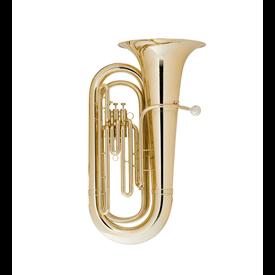 King King 1140W BBb Tuba - 3 Valve - Background Brass W Case