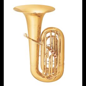Conn Conn 5JW BBb Tuba - 4 Valve - Background Brass W Case