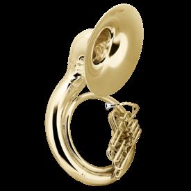 Conn Conn 40K Sousaphone - Brass - Background Brass