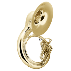 Conn Conn 40KW Sousaphone - Brass - Background Brass, W Case