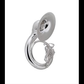 Conn Conn 40KSPW Sousaphone - Brass - Background Brass, Silver Plated, W Case