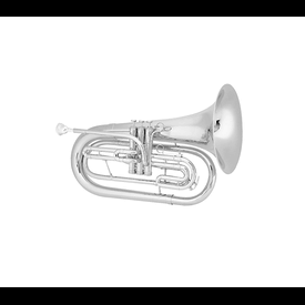 King King 1124SP King Marching Brass - Background Brass Silver-Plate Finish