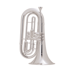 King King 1127SP King Marching Brass - Background Brass Silver-Plate Finish