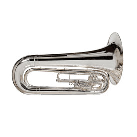 King King 1151SP King Marching Brass - Background Brass Silver-Plate Finish
