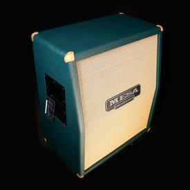 Mesa/Boogie Mesa Boogie 2x12 Recto-Vert Guitar Cabinet Emerald Bronco / Gold Jute