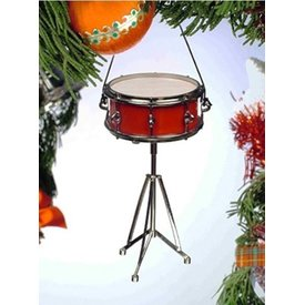 Music Treasures Co. Snare Drum Ornament 3.5""
