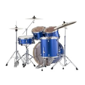 Pearl Pearl Drums EXX725-702 EXX Export Series 5-Pc Drum Kit w Hw Blue Sparkle Finish
