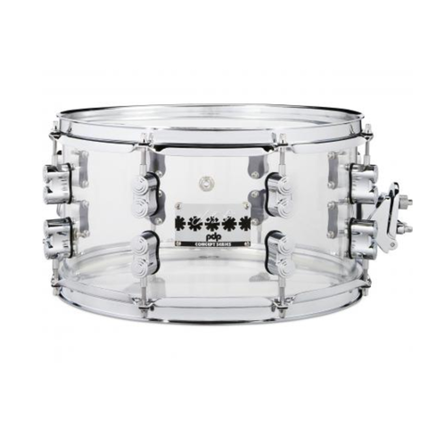 PDP Signature Snares (PDP) Chad Smith Sig Acrylic Snare 7X13 Acrylic