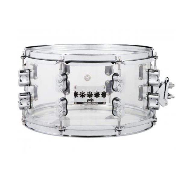 PDP PDP Signature Snares (PDP) Chad Smith Sig Acrylic Snare 7X13 Acrylic
